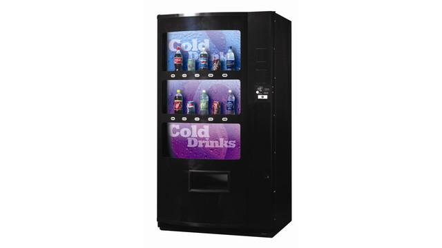 SandenVendo V21 Live Display Cold Drink Model