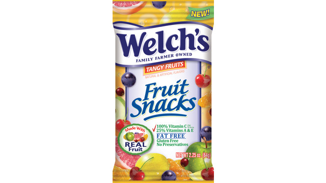 Promotion In Motion Welch's Tangy Fruits Fruit Snacks
