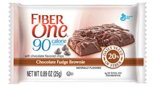 General Mills Fiber One® 90-Calorie Brownies