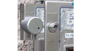 Lock America Auto Cashier/Paystation Lock System