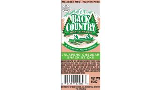 DJ Kitchen Back Country Jalapeno Cheddar Snack Sticks