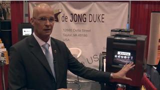 2011 NAMA OneShow: Video Touchscreen Enhances De Jong Duke Virtu Single Cup Brewer