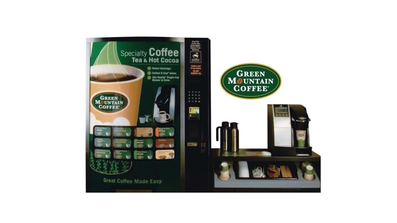 k cup vending machine