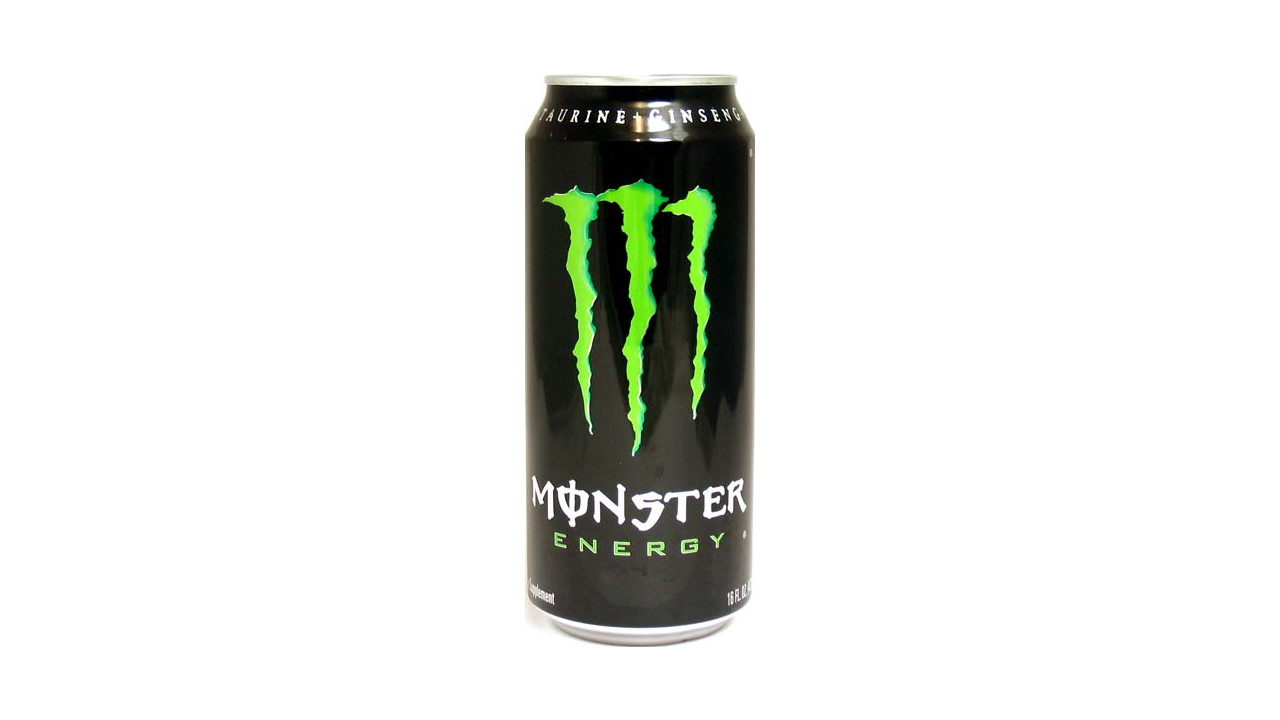 monster energy drink Excessive caffeine consumption in energy drinks had been associated with effects such as 'seizures, mania 'she had a normal diet, but then she mentioned that she drank the energy drink monster she admitted she drank about three or four cans a day.