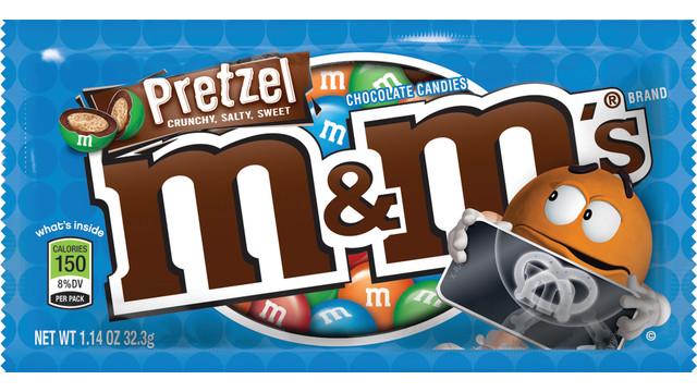 MARS M&M's Pretzel Chocolate Candies