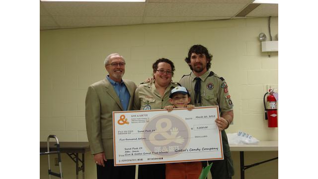 Goetze's Candy Co., Inc. Names Grand Prize Winner Of 'Give & Goetze' Initiative