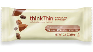 thinkThin Chocolate Espresso Protein Bar