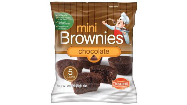 Cloverhill Brownie Mini Muffins