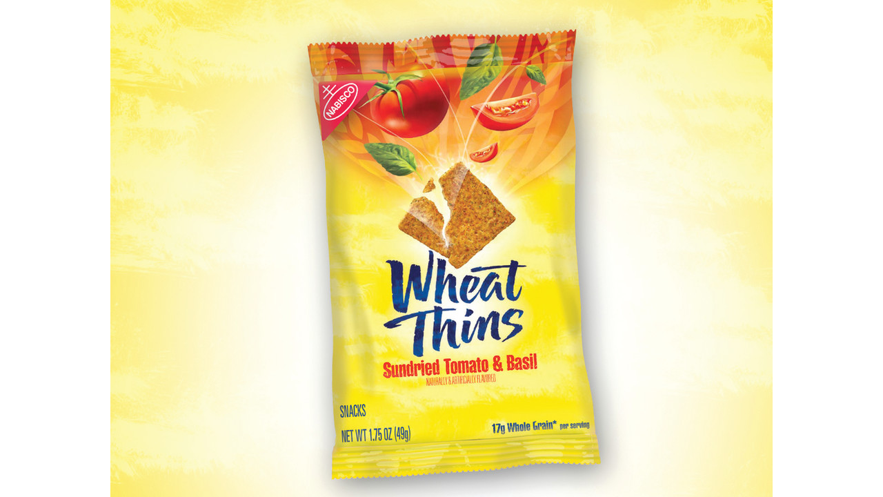 Mondelez International Sundried Tomato and Basil Wheat Thins