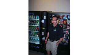Vending makes great new career for entrepreneur who loves technology