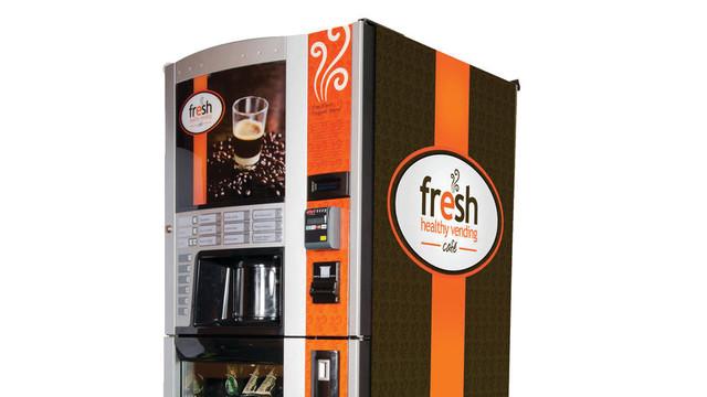 Starbucks Coffee Vending Machines