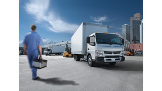 Mitsubishi Fuso Canter FE125, FE160 And FE180 Trucks