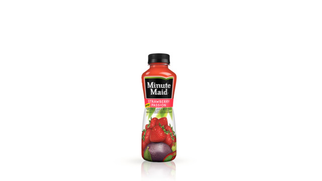 Minute Maid Fruit Punch And Strawberry Passion Juices To Go