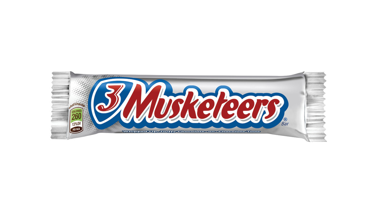 Mars Chocolate North America Mars 3 Musketeers Bar on Insurance Policy Clip Art Free