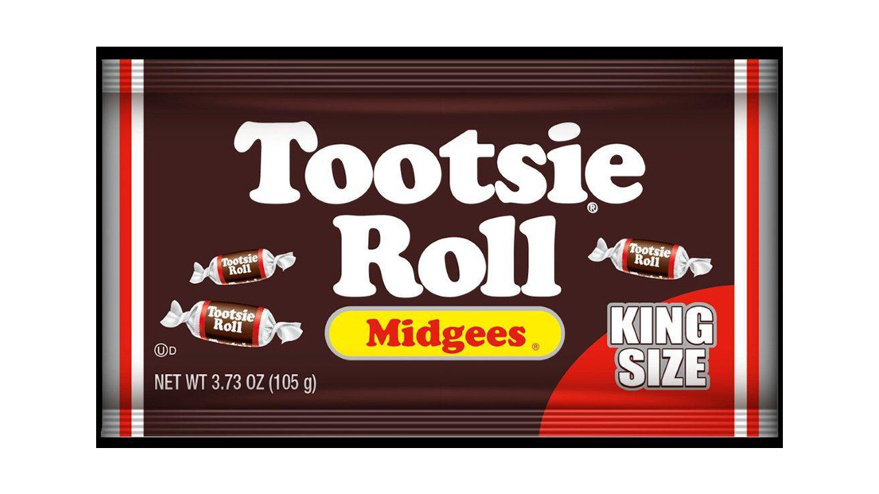 Definition Of Wrapped >> Tootsie Roll King Size Midgees Pouch | VendingMarketWatch