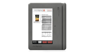 AirVend Unveils Touchscreen Solution For Vending Operators