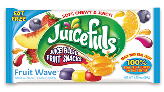 Promotion In Motion Inc. JUICEFULS(TM) Juice Filled Fruit Snacks