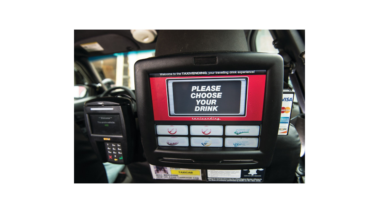 taxi vending machine