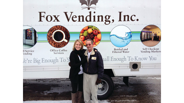 Fox Vending, Inc.'s Jim Milton Wins Route Driver of the Year