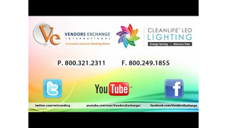 Vendors Exchange® and CLEANLIFE Fluorescent Replacement LEDs