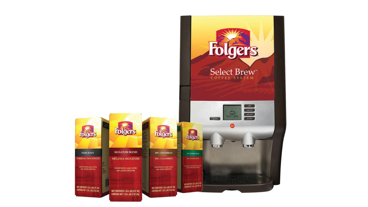 Smucker Foodservice Introduces The Folgers 174 Select Brew