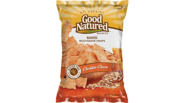 Herr's Good Natured Selects Baked Multi-Grain Crisps Cheddar Cheese