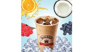 Gaviña Introduces Fruit Flavored Iced Coffee