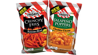 Inventure Foods Introduces TGI Fridays Extreme Heat Crunchy Fries, Jalapeno Poppers Snack Sticks