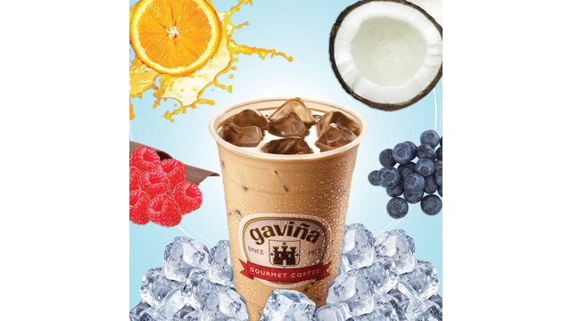 Fruit Flavored Iced Coffee