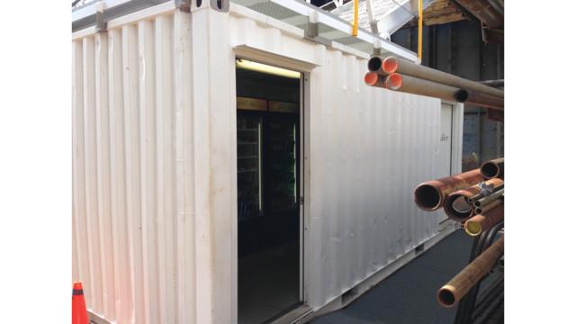 Micro Market Custom Spaces– Lake Union Dry Dock, Seattle, Washington