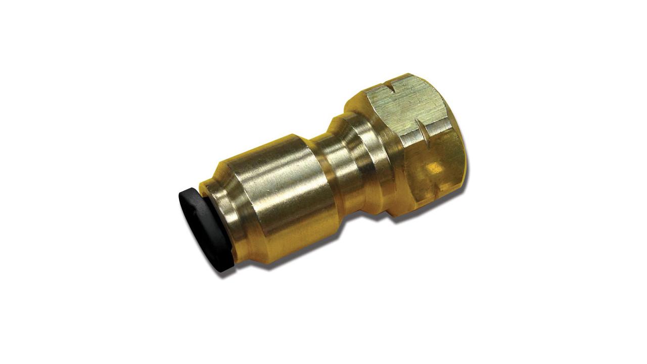 G a murdock inc mur lok flare fitting in lead free brass
