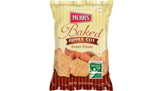 Herr's Sweet Potato Ripple Baked Crisps