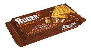 Chocolate Cream Filled Ruger2 Wafer
