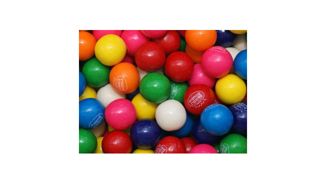 Double Bubble 1 Inch Gumball