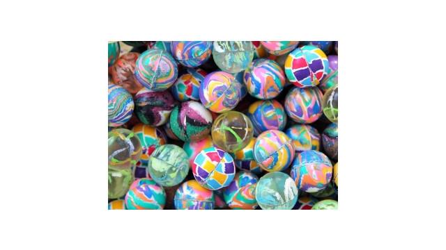 Confetti Mixed Bouncy Balls 27 mm