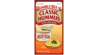 Bumble Bee Foods Hummus With Crackers