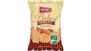 Herr's Sweet Potato Ripple Baked Crisps