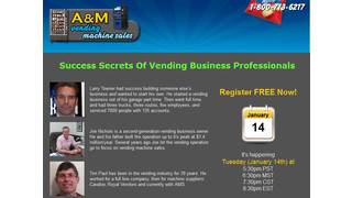Upcoming Webinar Highlights Vending Success Stories