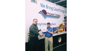 2014 Route Driver of the Year Quarterly Winner: Mike Hill, Piedmont Vending, Conover, N.C.