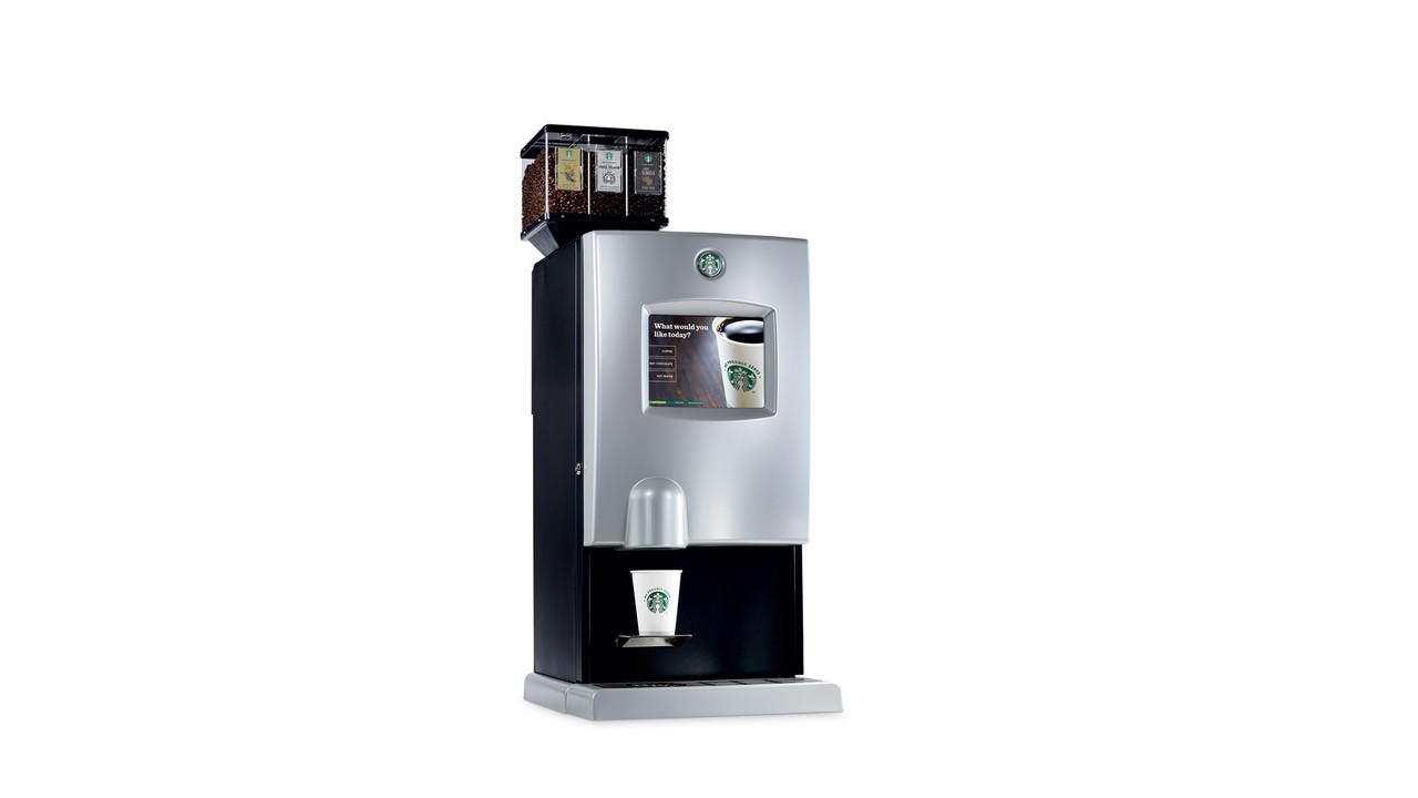 Starbucks Interactive Cup Digital Brewer VendingMarketWatch