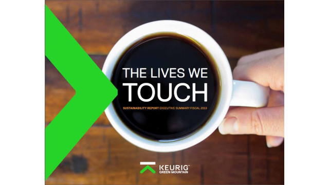 Keurig Green Mountain Releases Sustainability Report, Seeks To Make K-Cup Packs 100 Percent Recyclable By 2020