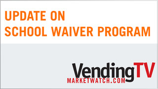 USDA School Waiver - VMWTV Legislative Update
