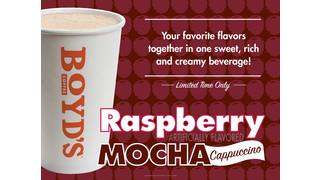 Raspberry Mocha Cappuccino