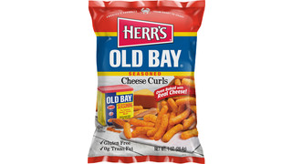 Herr's® Cheese Curls With Old Bay® Seasoning