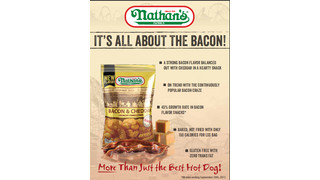 Nathan's Bacon & Cheddar Crunchy Crinkle Fries