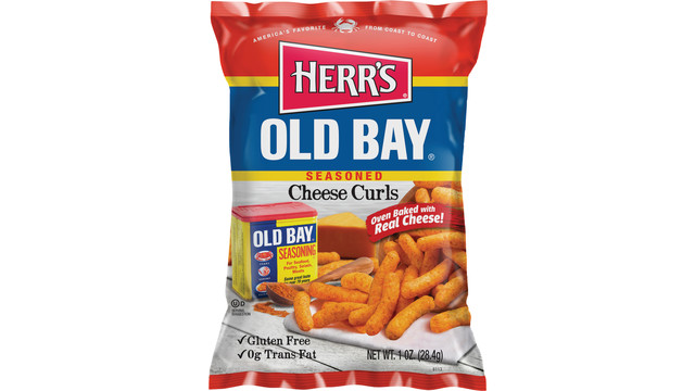 Herr's Old Bay® Cheese Curls