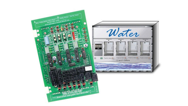 ESDI Model 110400 Four Station Water Vending Controller