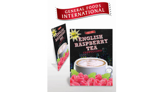 Sweeten Sales With New English Raspberry Tea From General Foods International