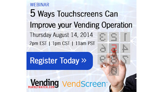 Webinar Recap: Five Ways Touchscreens Can Improve Your Vending Operation