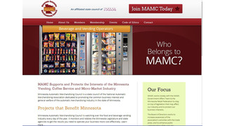 Minnesota Automatic Merchandising Council (MAMC) Launches New Website And Takes A New Direction
